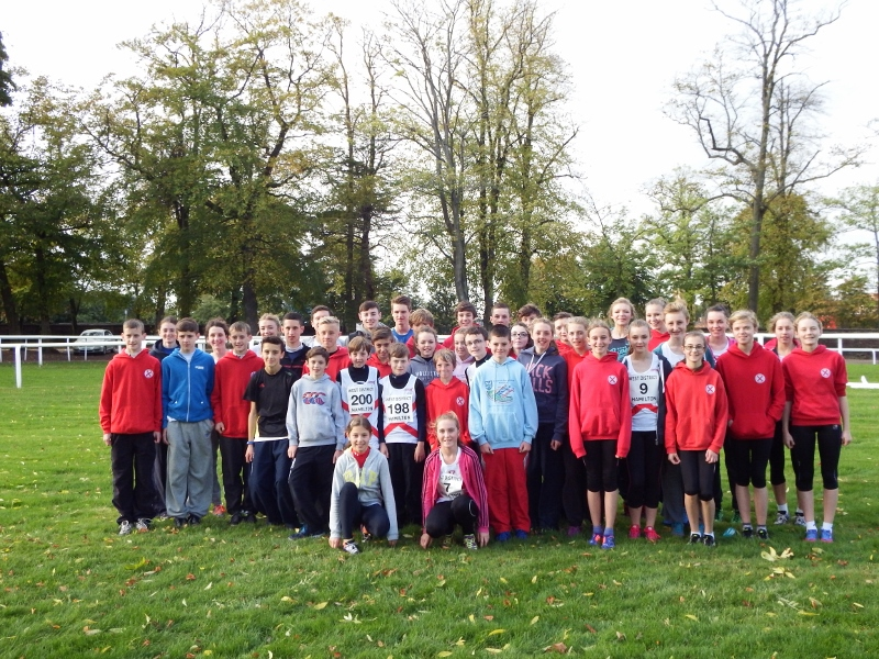 West District XC Relays 2013