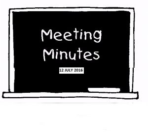 meeting-minutes-12-july-2016