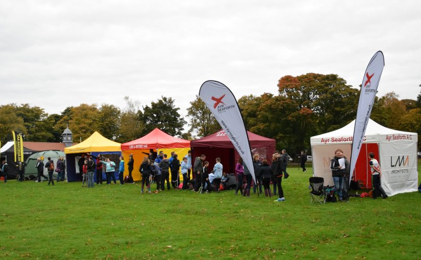 West District Cross Country Relays – Kilmacolm – Saturday 8 October 2016